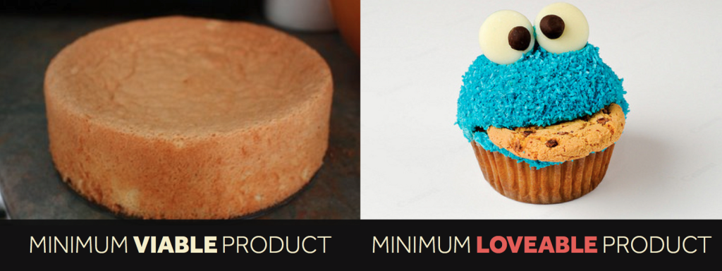 Minimum Viable Product vs. Minimum Lovable Experience